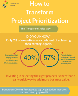Project prioritization TransparentChoice Way